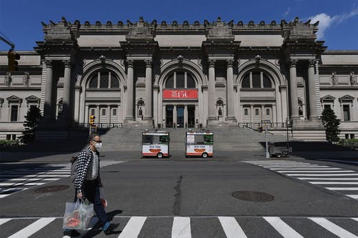 The Met Museum is considering a policy change that would mirror the AAMD's temporary relaxation of guidelines, allowing it to use deaccessioning funds for collection care.