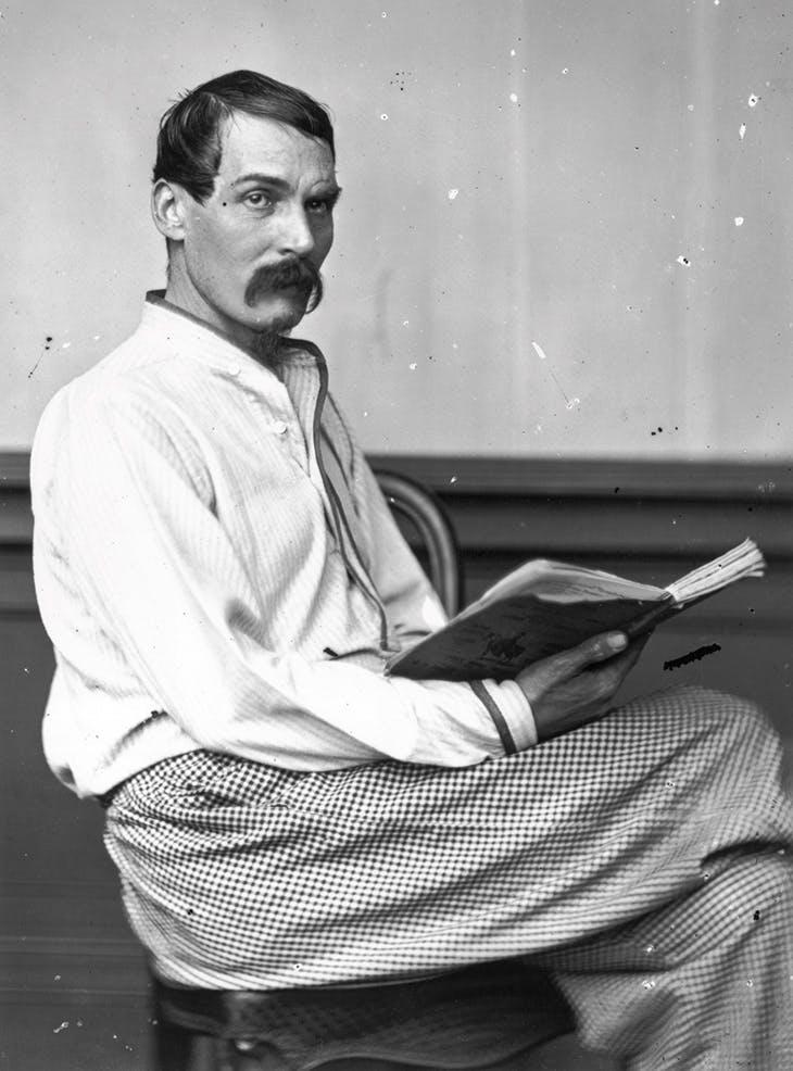 Richard Francis Burton, photographed on 24th August 1864.