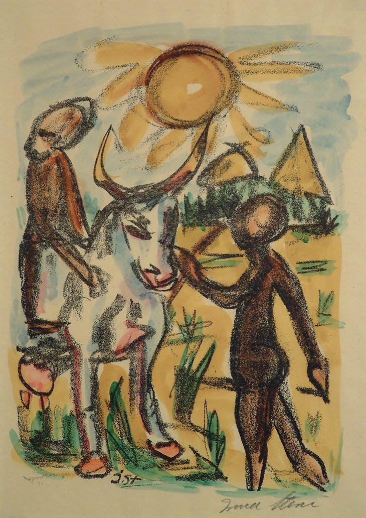 From Dumela Morena (1920), Irma Stern