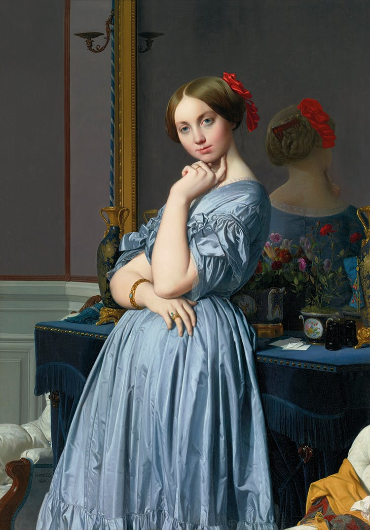 Comtesse d'Haussonville (1845), Jean-Auguste-Dominique Ingres. Frick Collection, New York.