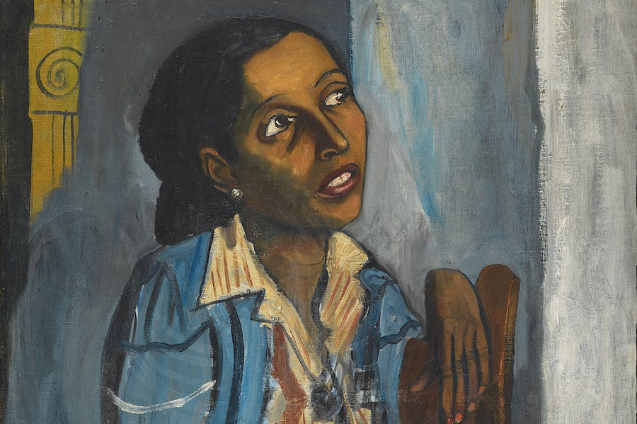 Mercedes Arroyo (detail; 1952), Alice Neel.