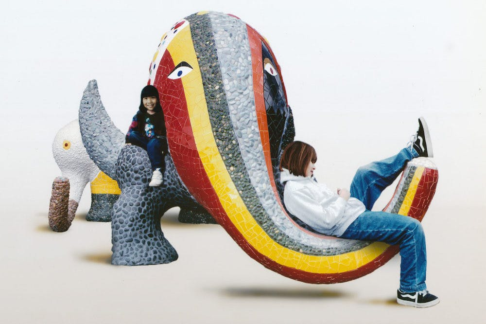 Photograph for the book 'Noah's Ark: Play Sculpture, Jerusalem' (1998).