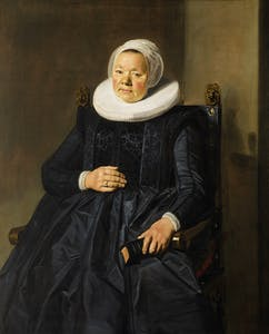 Portrait of a Woman (1635), Frans Hals. Frick Collection, New York