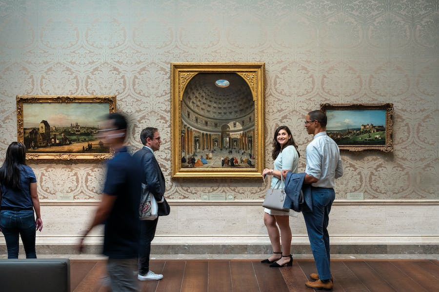 At the National Gallery of Art, Washington, D.C. Photo: © Ron Blunt/National Gallery of Art