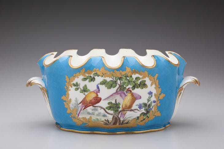 Cooler for wine glasses from the Prince de Rohan service (1771–72), Manufacture nationale de Sèvres.