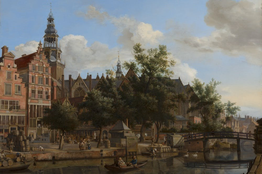 A Grocer's Shop (1717), Willem van Mieris.