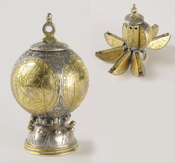 Pomander (c. 1620), probably Northern Netherlands.