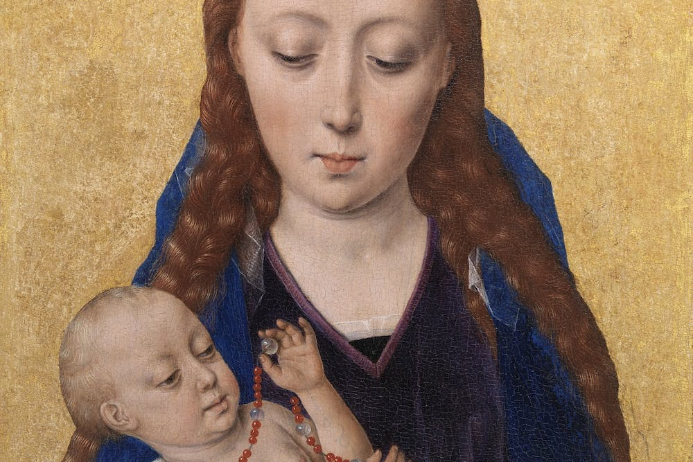 (detail; 1454), Dieric Bouts.