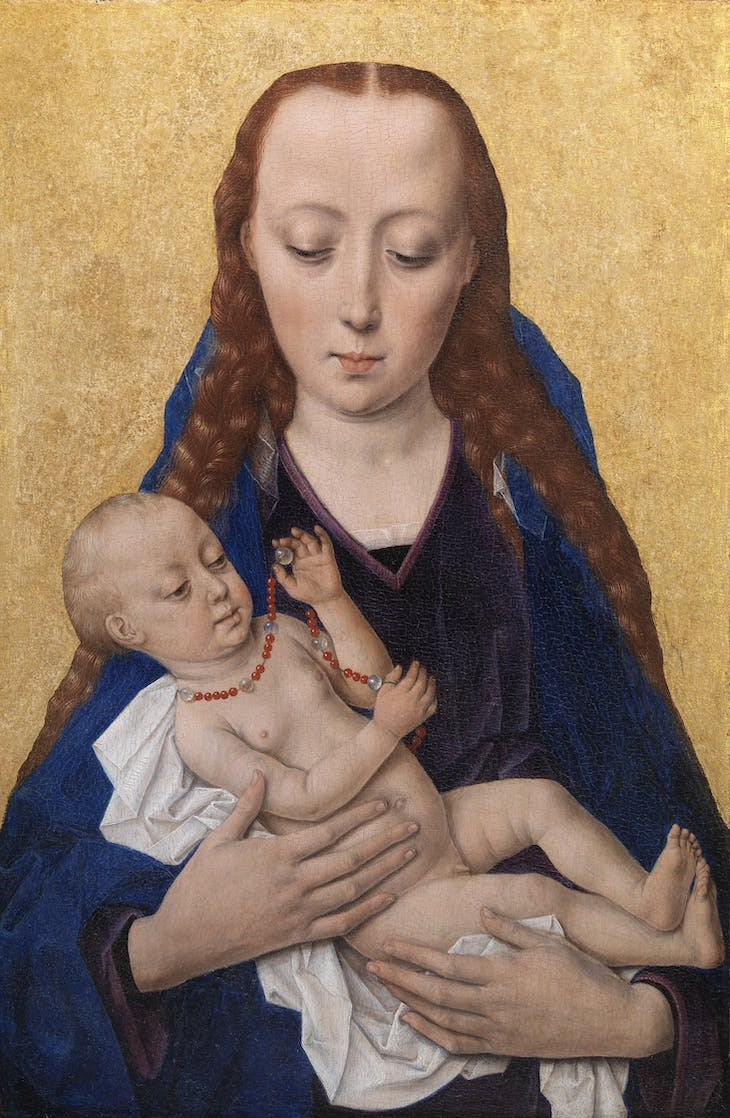 Madonna with Child (1454), Dieric Bouts.