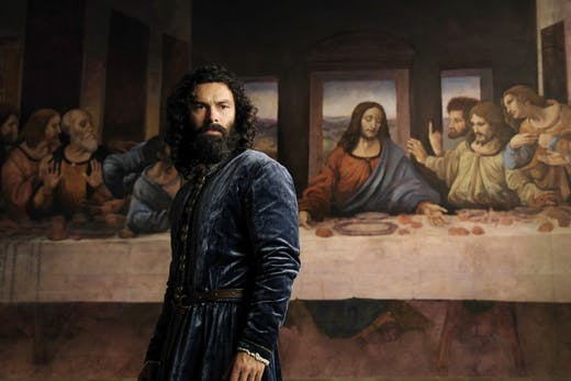 Aidan Turner in 'Leonardo', which launches on 16 April on Prime Video