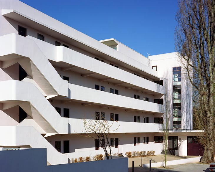 Photo: Getty Images. The Isokon Building in Hampstead, where Agatha Christie lived between 1941–67.