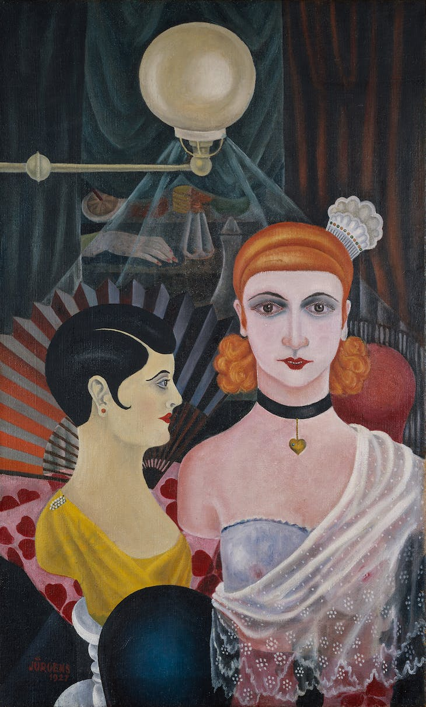 Hair Salon Mannequins (1927), Grethe Jürgens.