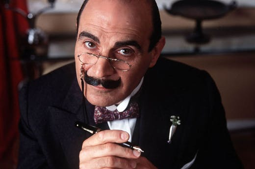 David Suchet as Hercule Poirot. Photo: courtesy ITV