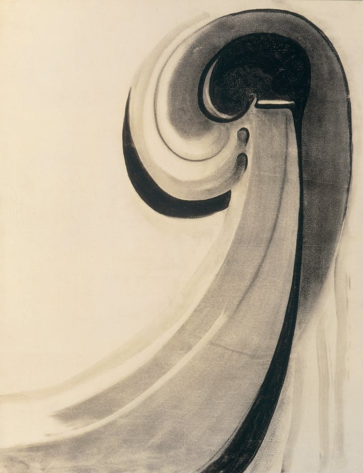 Early Abstraction (1915), Georgia O'Keeffe.