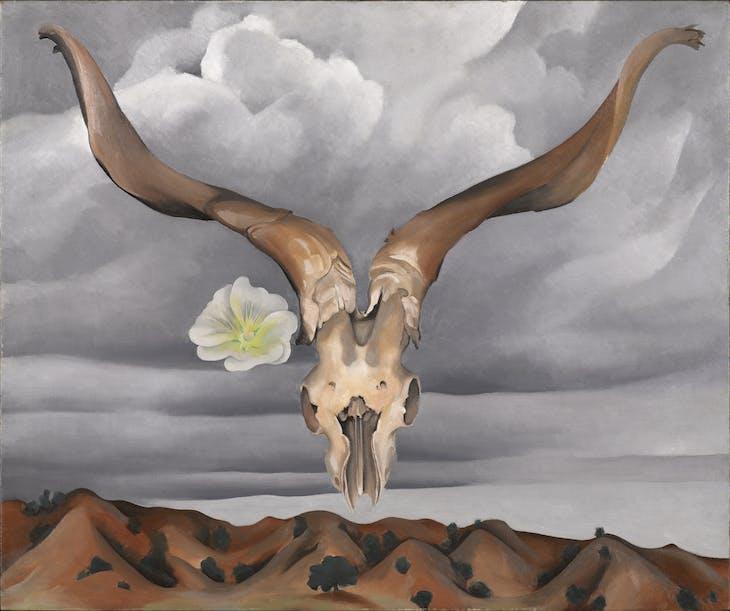 Ram's Head, White Hollyhock-Hills (1935), Georgia O'Keeffe.