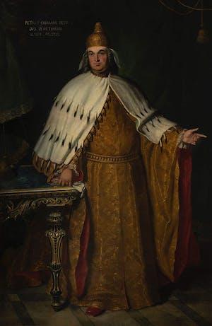 A portrait of Pietro Grimani.