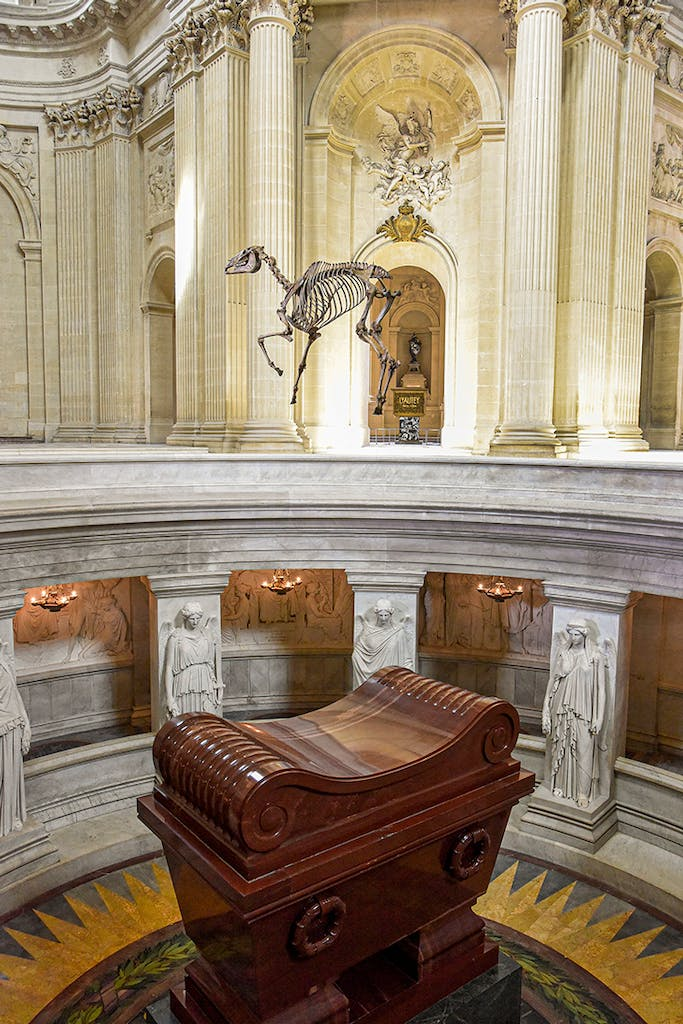 Render of Memento Marengo by Pascal Convert at Les Invalides.
