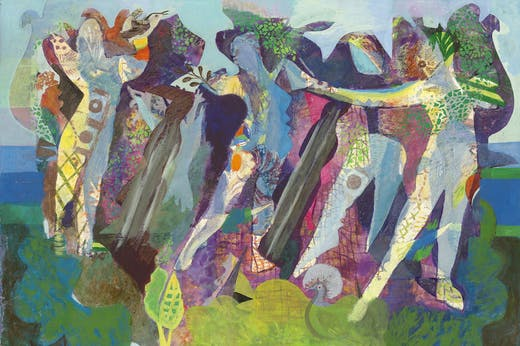 Agar_Dance of Peace (detail; 1945), Eileen Agar.