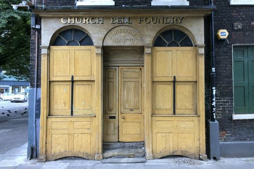 The Whitechapel Bell Foundry. Photo: Thomas Marks