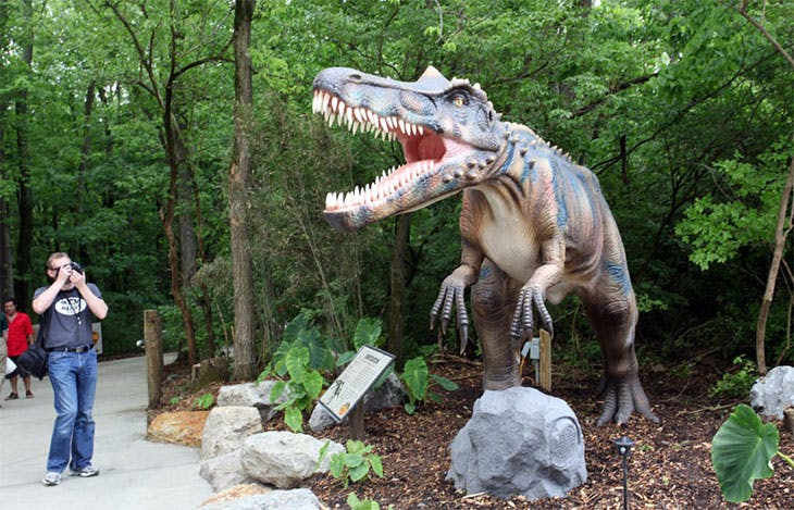 A preview of what visitors to Jurassic Encounter can expect