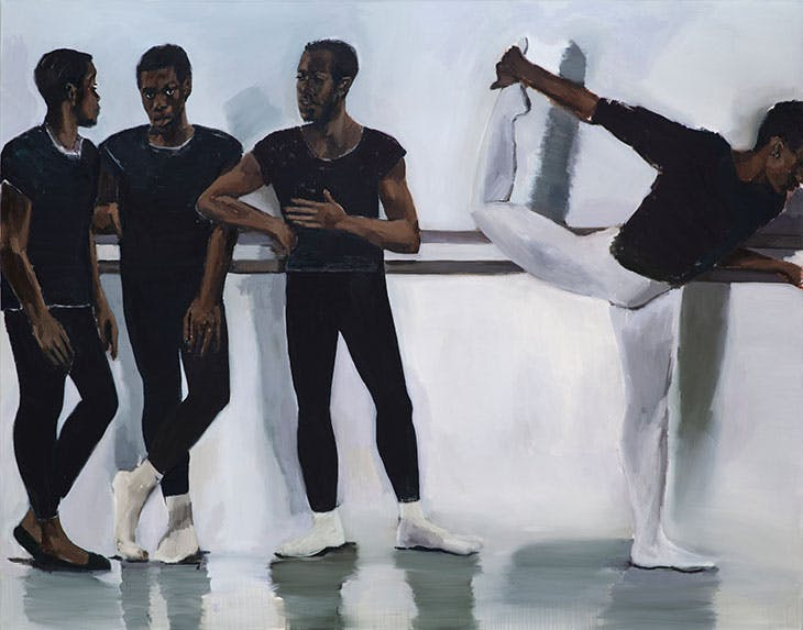 A Concentration (2018), Lynette Yiadom-Boakye. Carter Collection.