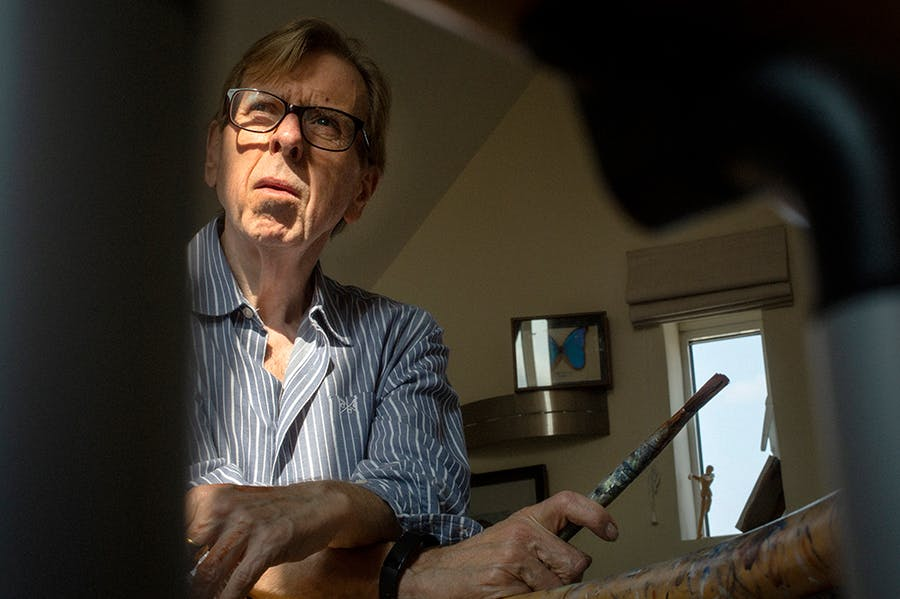 Taking after Turner: Timothy Spall.