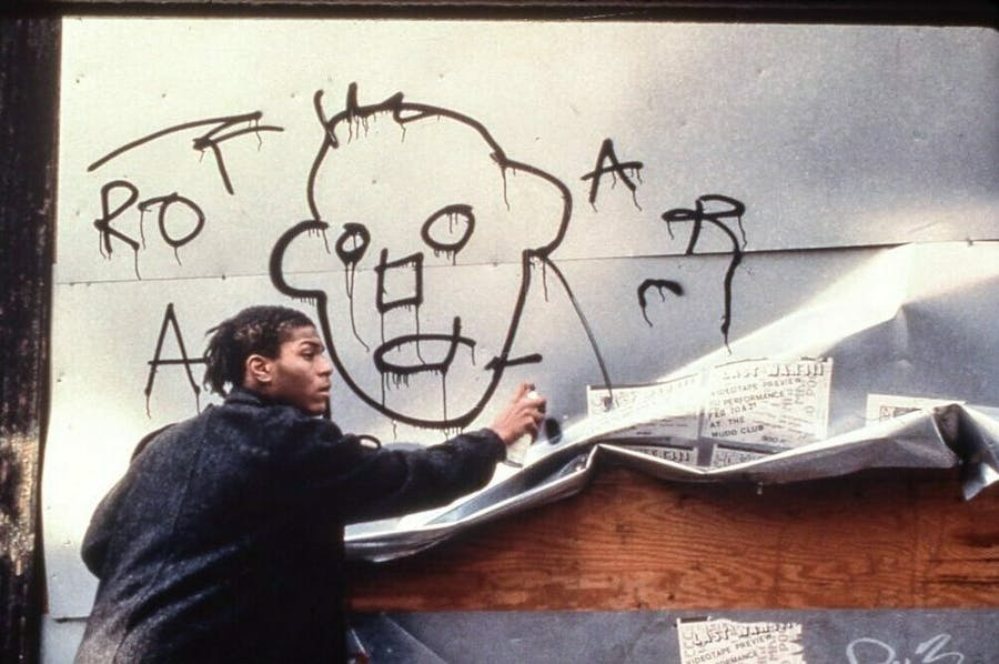 Jean-Michel Basquiat in the film 'Downtown 81' (1980–81/2000).