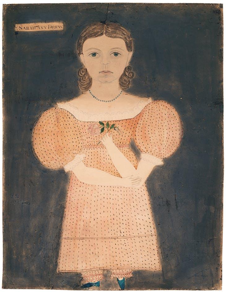 Sarah Ann Drew (c. 1827), Ruth Whittier Shute. Museum of Fine Arts, Boston