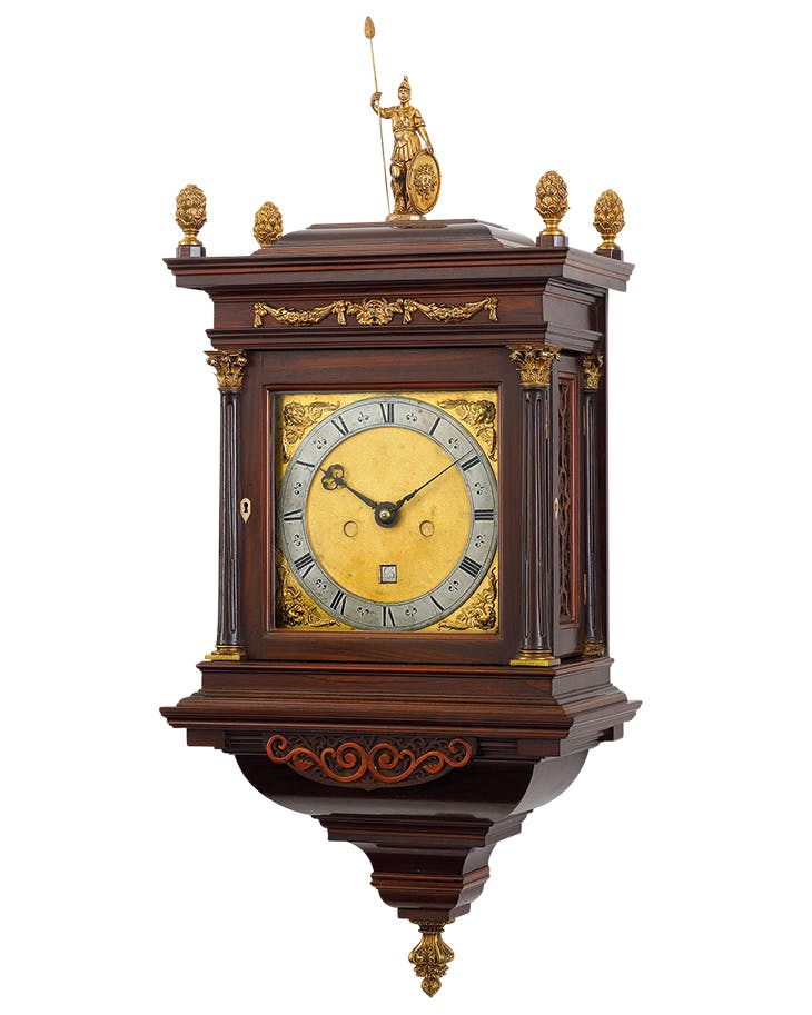 The Minerva Fromanteel (c. 1665), made by John Fromanteel, London. Carter Marsh & Co. (£375,000)