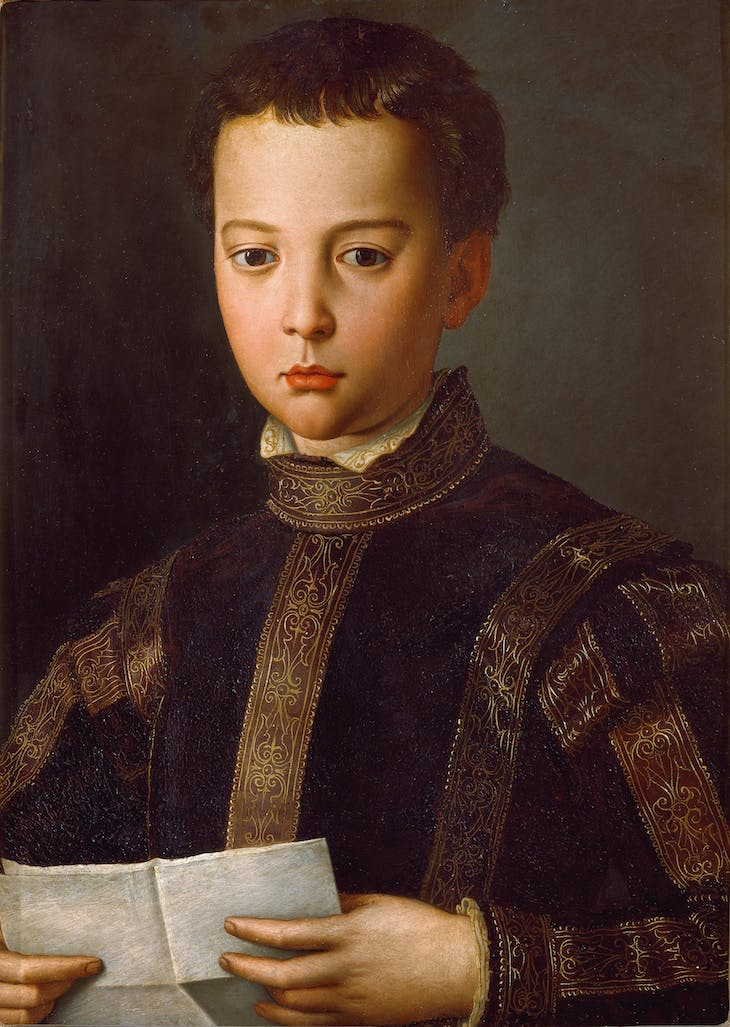 Francesco de' Medici (c. 1551), Bronzino.