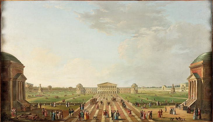View of the projected Foro Bonaparte, Milan 1800 (c. 1800), Alessandro Sanquirico. Laing Art Gallery, Newcastle-upon-Tyne