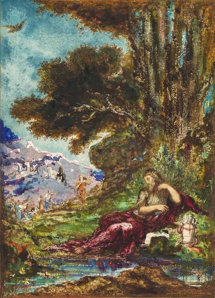 Democritus and the Abderites (1881), Gustave Moreau. Private Collection.