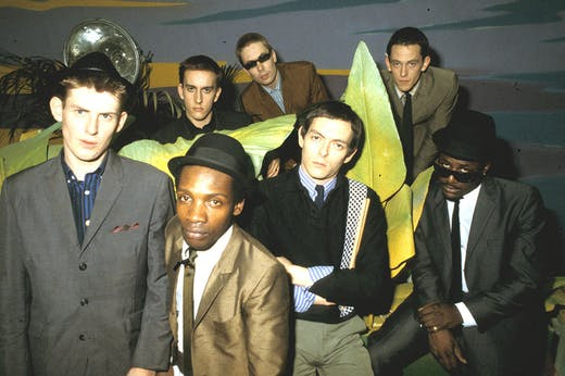 The Specials photographed in 1980.