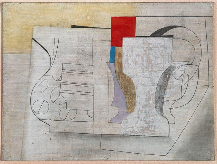 June 16-47 (still life) (1947), Ben Nicholson. Private collection.