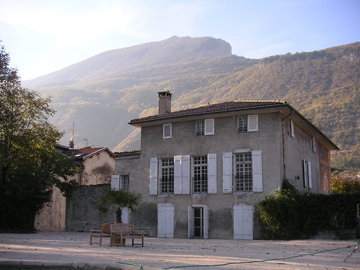 The Maison Champollion, photographed in 2004.