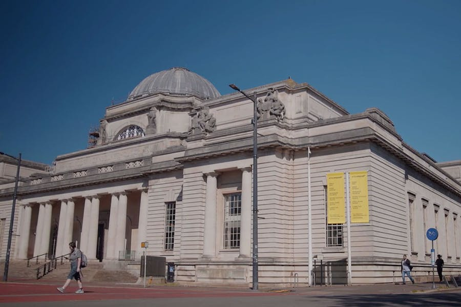 The National Museum Cardiff.
