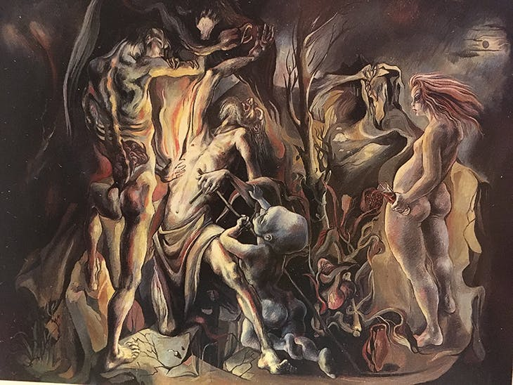 Temptation of St Anthony (1943), Michael Ayrton. Tate Collection.