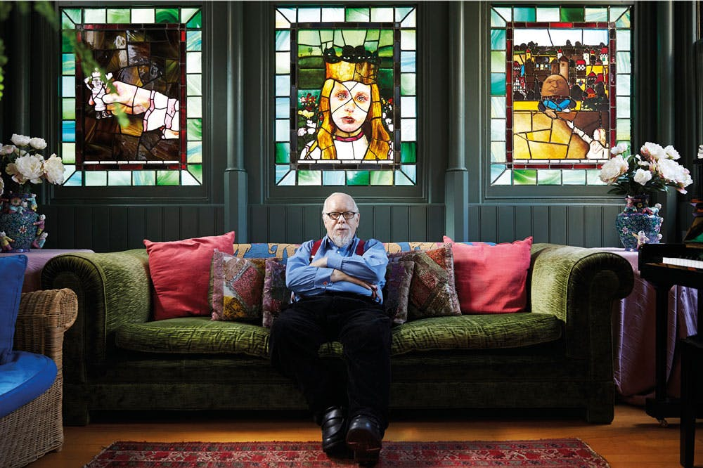 The king of collage – an interview with Peter Blake