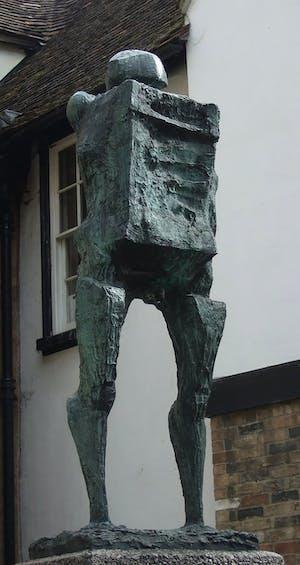 Talos (Large) (1963), Michael Ayrton. Cambridge City Council.