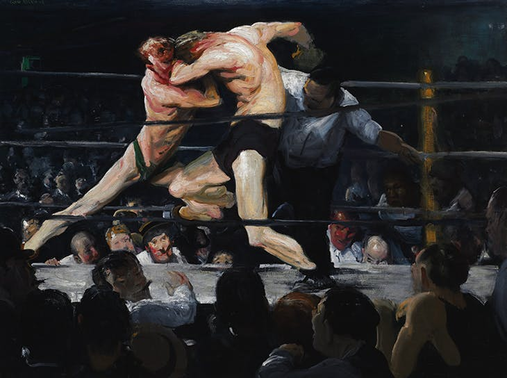 A Stag at Sharkey's (1909), George Bellows. Cleveland Museum of Art