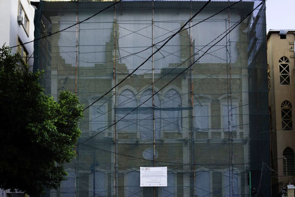 House on Armenia Street, 500 metres from the site of the Port explosion.