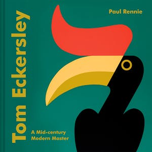 Cover of Tom Eckersley: A Mid-century Modern Master by Paul Rennie