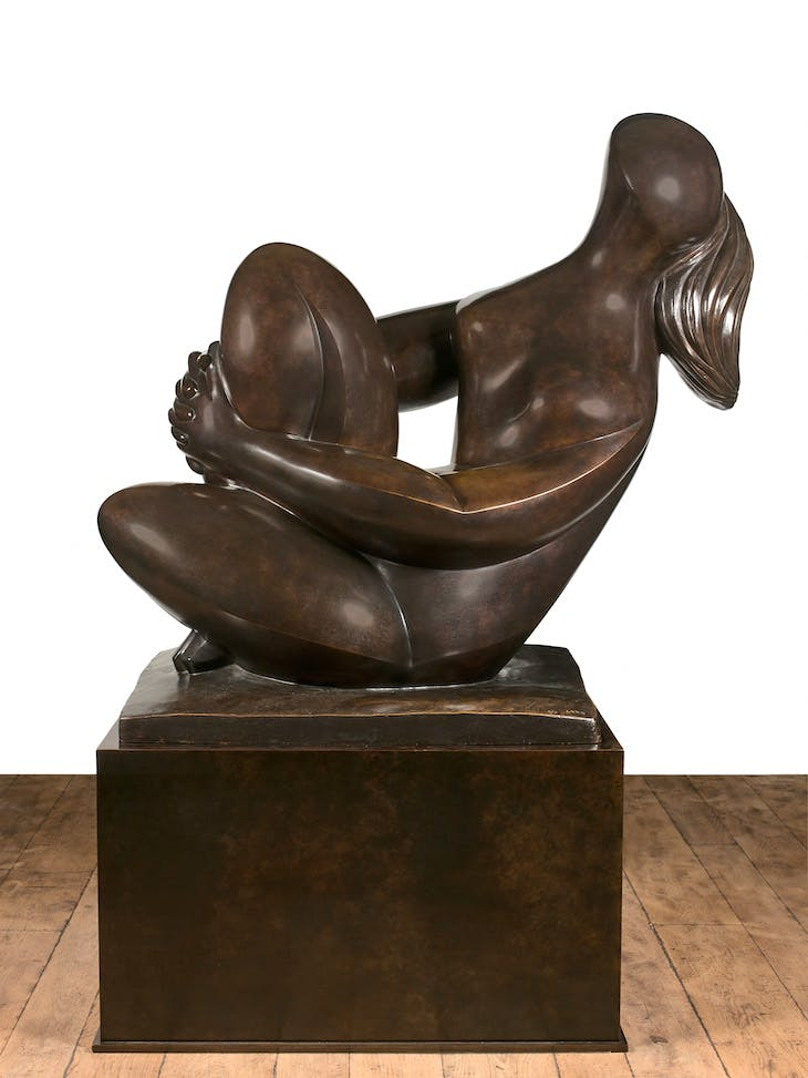 Moment de Bonheur (1990–91), Baltasar Lobo. Artcurial at Monaco Art Week