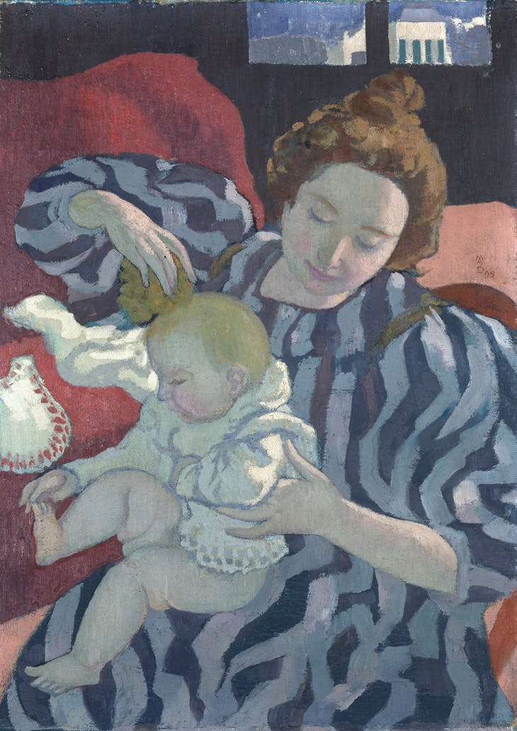 Washing the Baby (1899), Maurice Denis.