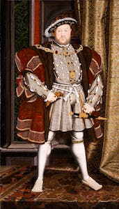 Portrait of Henry VIII (1536/37), Hans Holbein.