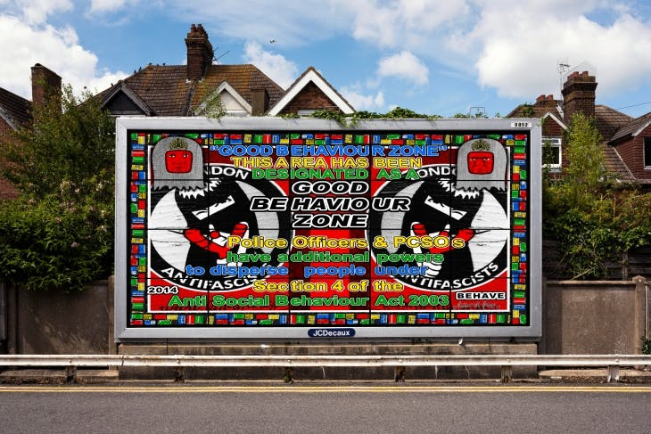 BEHAVE (2014), Gilbert and George.