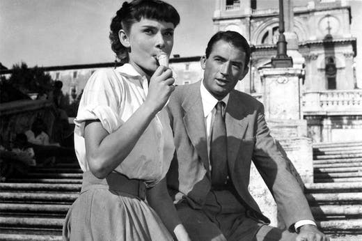 The Spanish Steps starring alongside Audrey Hepburn and Gregory Peck in Roman Holiday (1953).