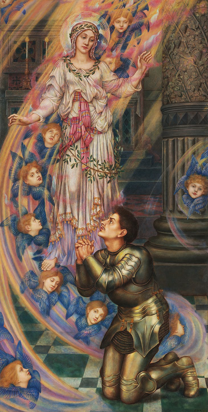 Our Lady of Peace (1907), Evelyn De Morgan.