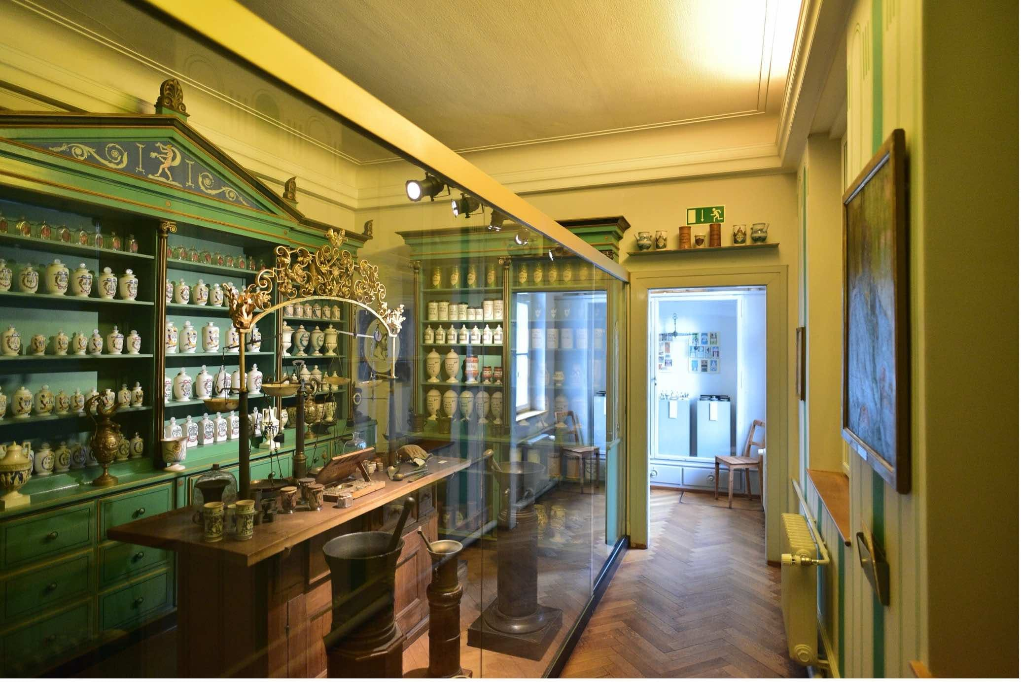 The Pharmacy Museum at the University of Basel.