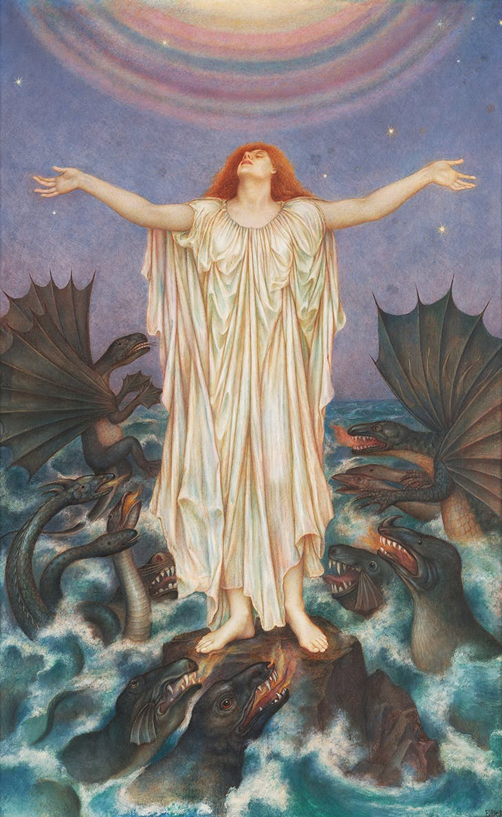 S.O.S (1914), Evelyn De Morgan.